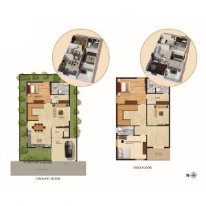 JJ Infra Luxury Villa Floor plans
